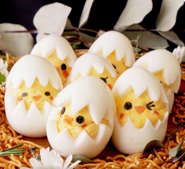 Hardboiled Egg Chicks